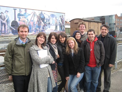 The digital heritage class of 2008 (minus Chris and Alex) at the Museum of Science and Industry